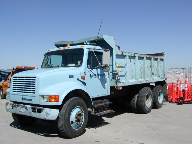 View Larger Image Tandem Axle Dump Truck Hauls Up To 12 Cubic Yards Of Dirt