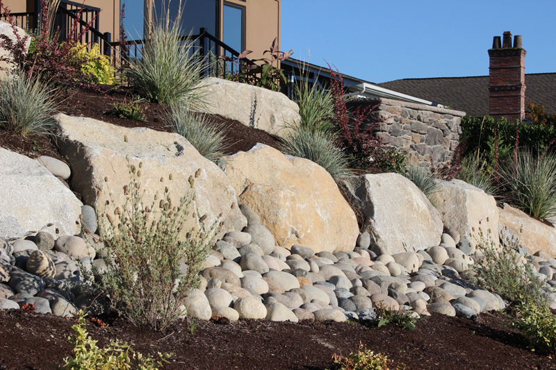 View Larger Image river washed gravel with landscaping stone, calculate  cubic yards - How Much Does A Cubic Yard Of Gravel Weigh? - Earth Haulers, Inc.