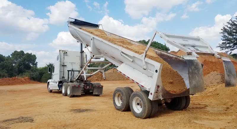 Commercial Dump Truck Services, dirt/sand/gravel/aggregate